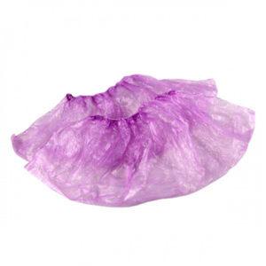 Бахилы фиолетовые 100 штук