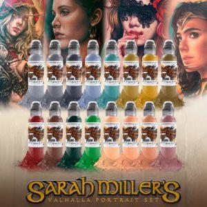 16 Color Sarah Miller Valhalla Portrait 1oz Set