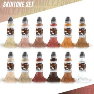 12 Color Skin Tone 1oz Set