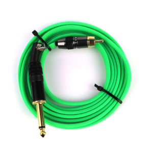 Buren tattoo RCA cord premium Green