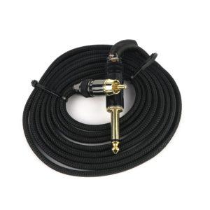 Buren tattoo RCA cord premium Black