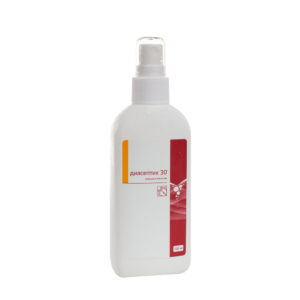 Диасептик 30 - 100мл со спреем / кожный антисептик
