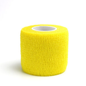 Бандажная лента желтая