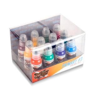 World Famous 12 Color Primary Set #3 1 Oz
