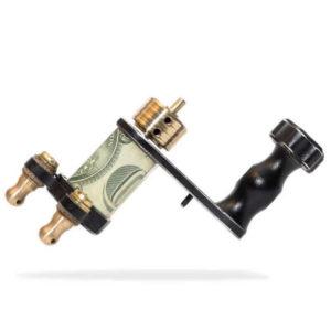 Scraplet rotary - One Dollar Black