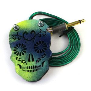 Педаль Moskit Steel череп multicolor 2