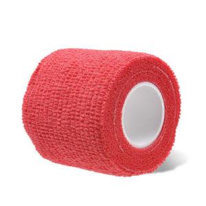 бандажная лента красная